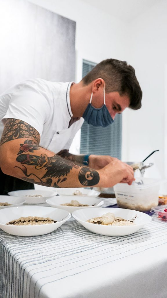 le chef tatuato